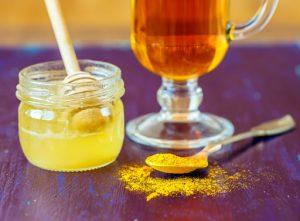 Giảm cân bằng mật ong nghệ